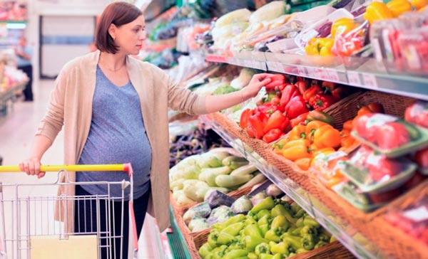 dieta en el embarazo y lactancia