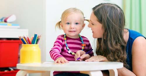 estimular al bebé para hablar
